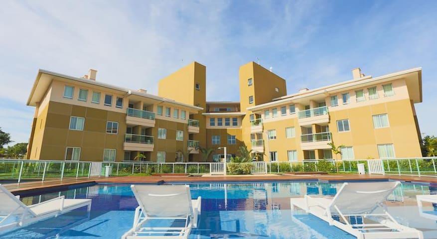 Flat em resort à beira do lago - Brasília - Loteng