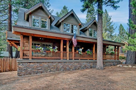 5 Bed 4.5 Bath w/Game Room & Hot Tub - Tahoe Vista - Casa
