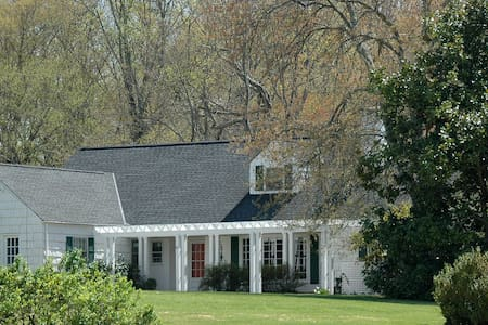 Upfront, Cape Cod on 50-acre farm - Keswick