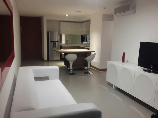 Sea Breezes, comodidad 1 dormitorio - Maldonado - Lägenhet