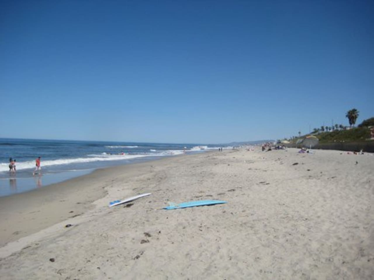 Tamarack Beach is only a mile away!