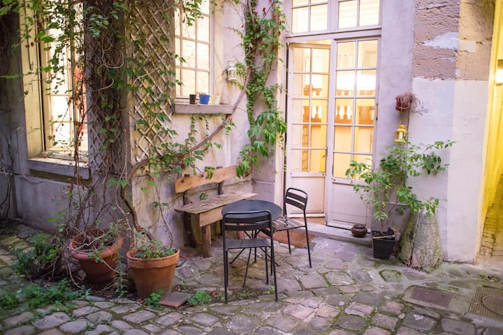 Charming haven in the Marais with lovely courtyard - Paris