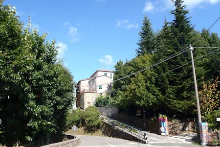 Sunny flat near Cinque Terre, Italy - Carro - Apartamento