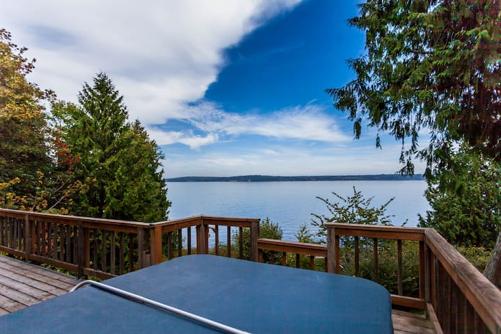 Blue Bay Escape Bed and Breakfast - Vashon - 아파트