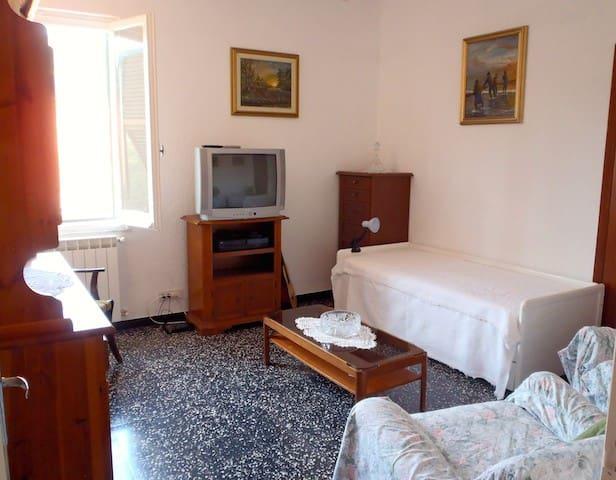 Sunny flat near Cinque Terre, Italy - Carro - Apartament