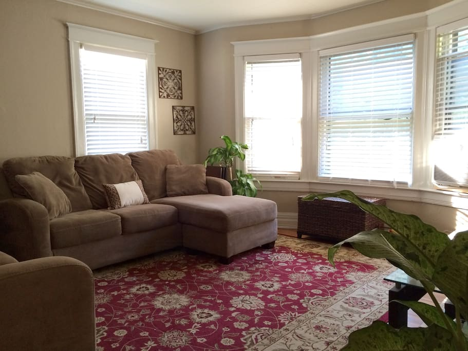 Move in ready with all the comforts of home. Filled with natural light, comfy couches and warm furnishings.