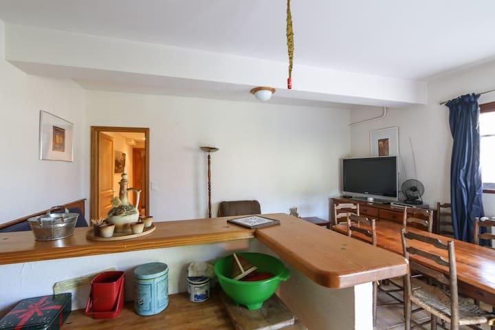 appartement plein pied montagne - Beuil - Apartment