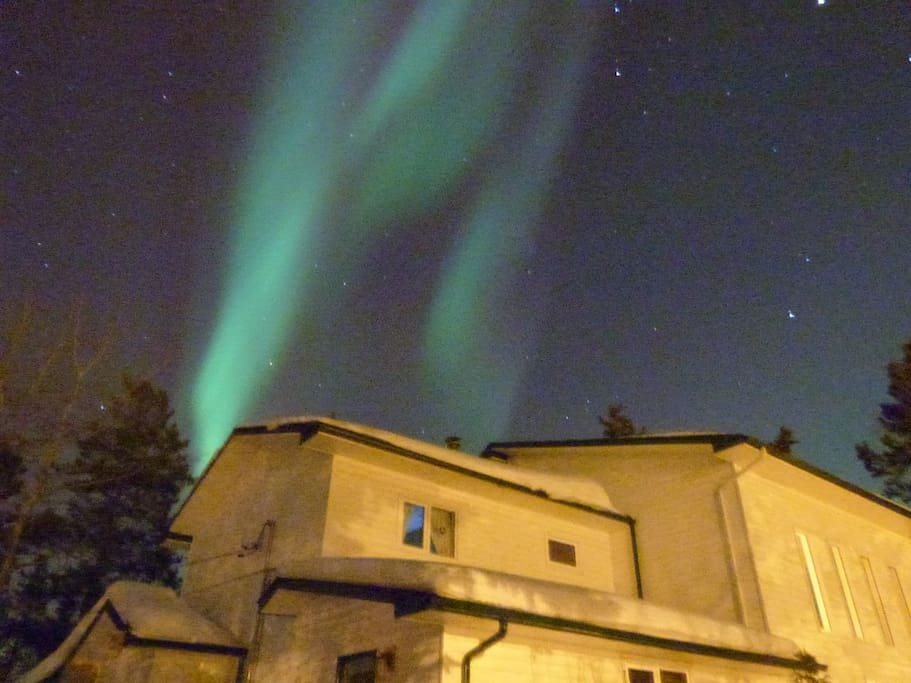 Northern Lights above our house