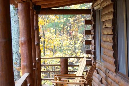 Luxury Log Cabin, Mountain Views - Ház