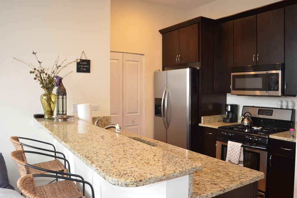 Wrigleyville penthouse w private balcony 05 apartments - 4 bedroom apartments lakeview chicago ...