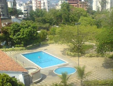 Bedroom, 2 meals, Pool, at Downtown, Best Location - Caracas