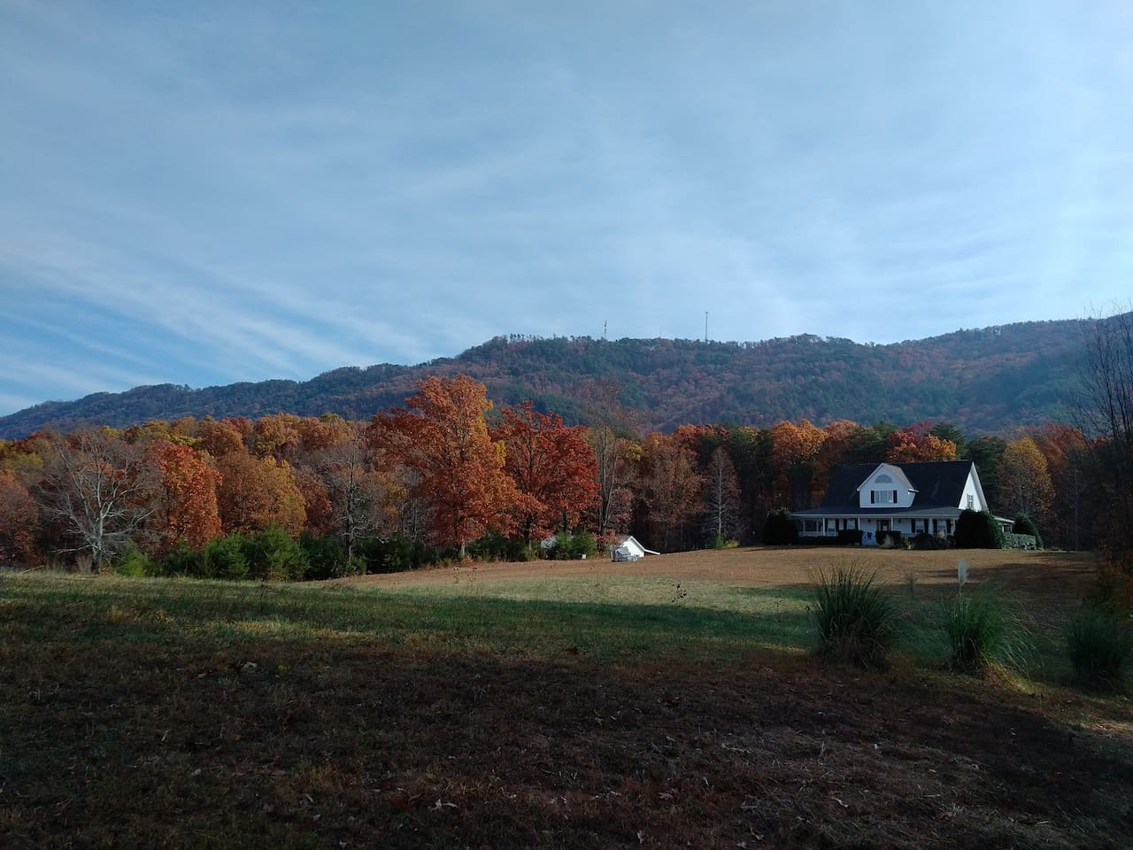 Wonderful country setting at the foot of Chilhowe Mountain