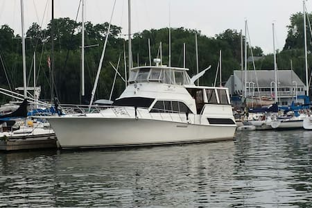 Watercraft Inn B&B Luxury Yacht - Hamilton
