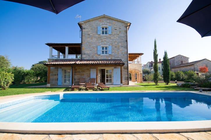 Luxury villa with private pool, 8p - Višnjan