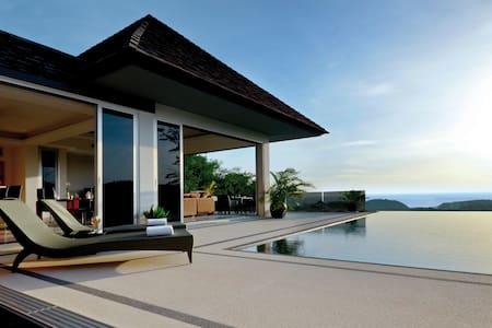 Luxury sea-view villla, 3-br, Layan - Пхукет, Таиланд