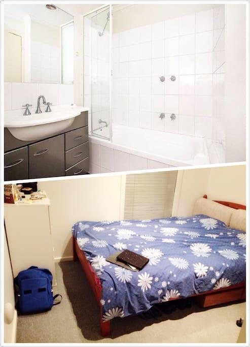Bathroom & Bedroom