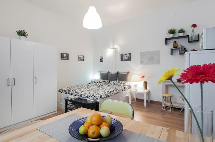 Available monthly rent ~ Studio Milan City Center