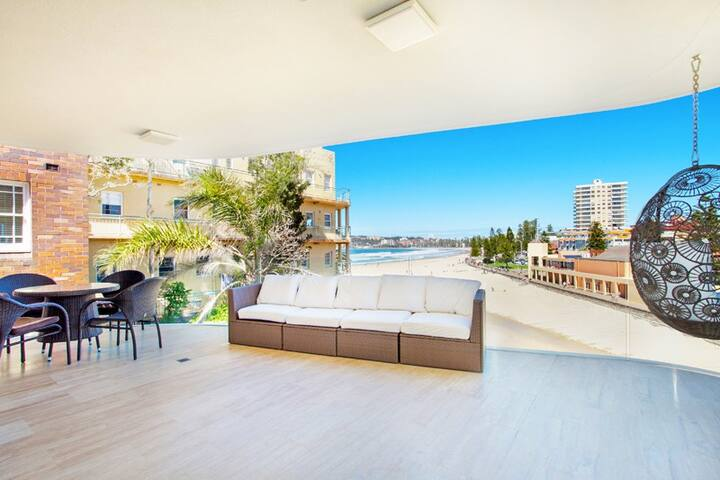 New Open Plan Beachfront Apartment - Queenscliff - Wohnung