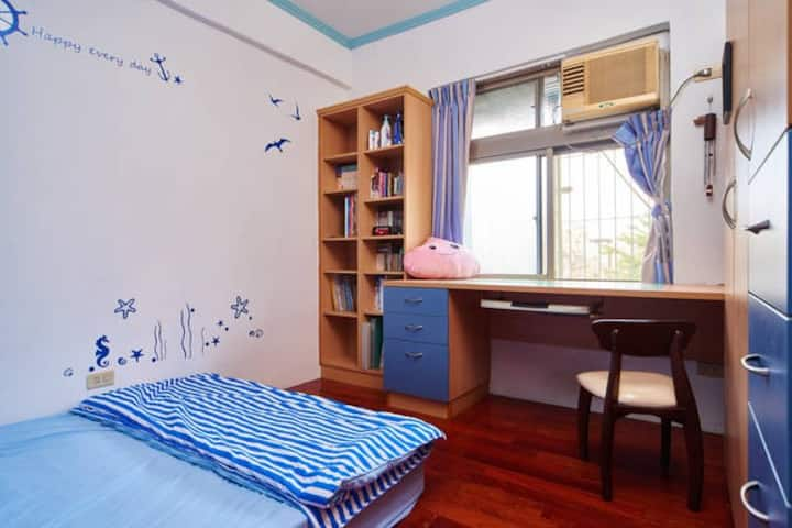 Taipei MRT Chill-out double room