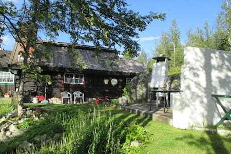 Norwegion Wood, 300 year old timber cabin ........ - Geilo - Guesthouse