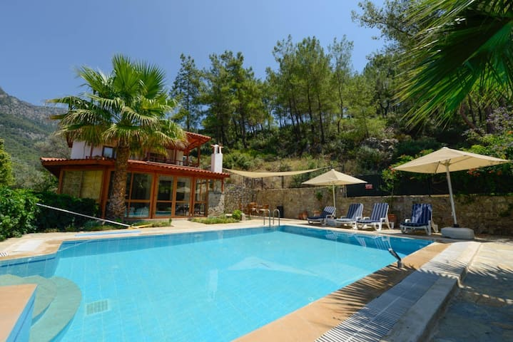 Villa Anni, Orhaniye near Marmaris. Private Pool - Orhaniye Köyü