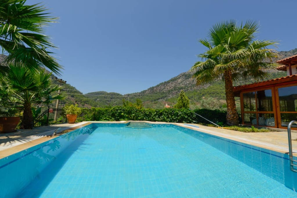 Large private 100% eco-friendly pool.