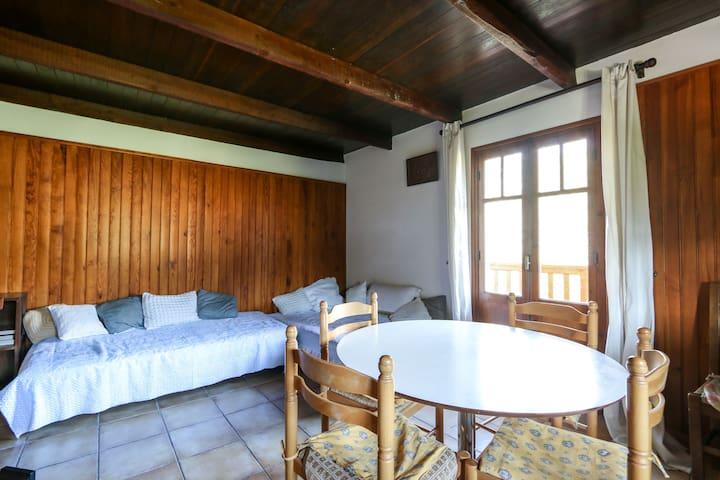 Typique appartement de montagne - Beuil - Huoneisto