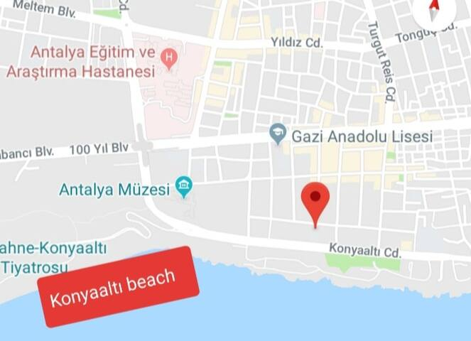 Beach 15 min. Antalya/Muratpaşa/Pamircaddesi