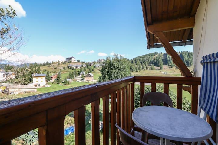Typique appartement de montagne