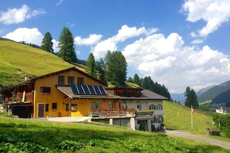 Small-Animal Farm (3 Bedroom Apt) - Davos Frauenkirch
