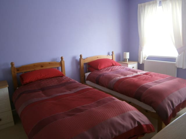 Twin Room over the Teifi Valley
