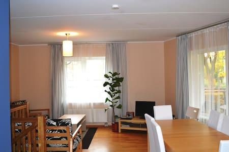 2-Floor Flat w/ 3 Bedrooms & Sauna