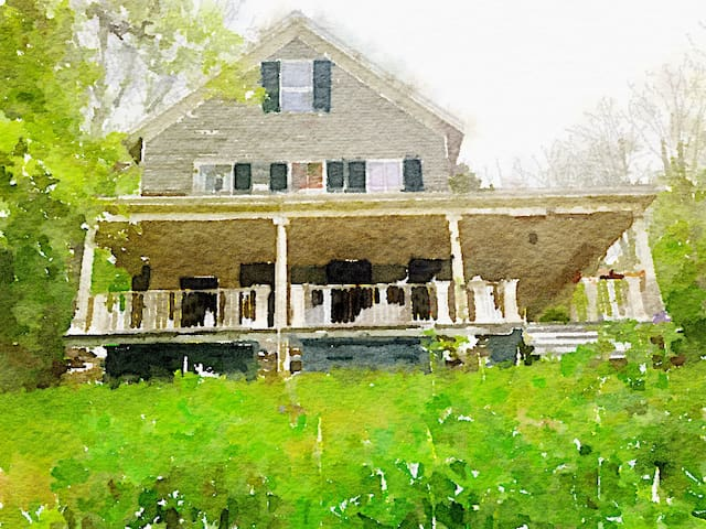 Large Sea Captain's Home near town-multiple rooms - Waldoboro - House