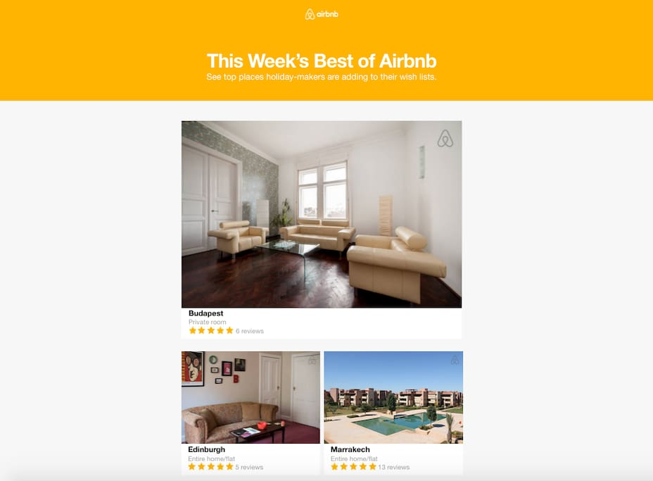 We are delighted Airbnb has selected us as one of the best places to stay in the world!