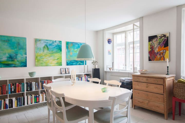 GREAT APARTMENT IN CENTRAL CPH - Kopenhag - Daire