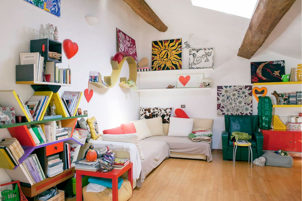 Modena mansarda molto carina appartamenti in affitto a for Appartamenti in affitto modena