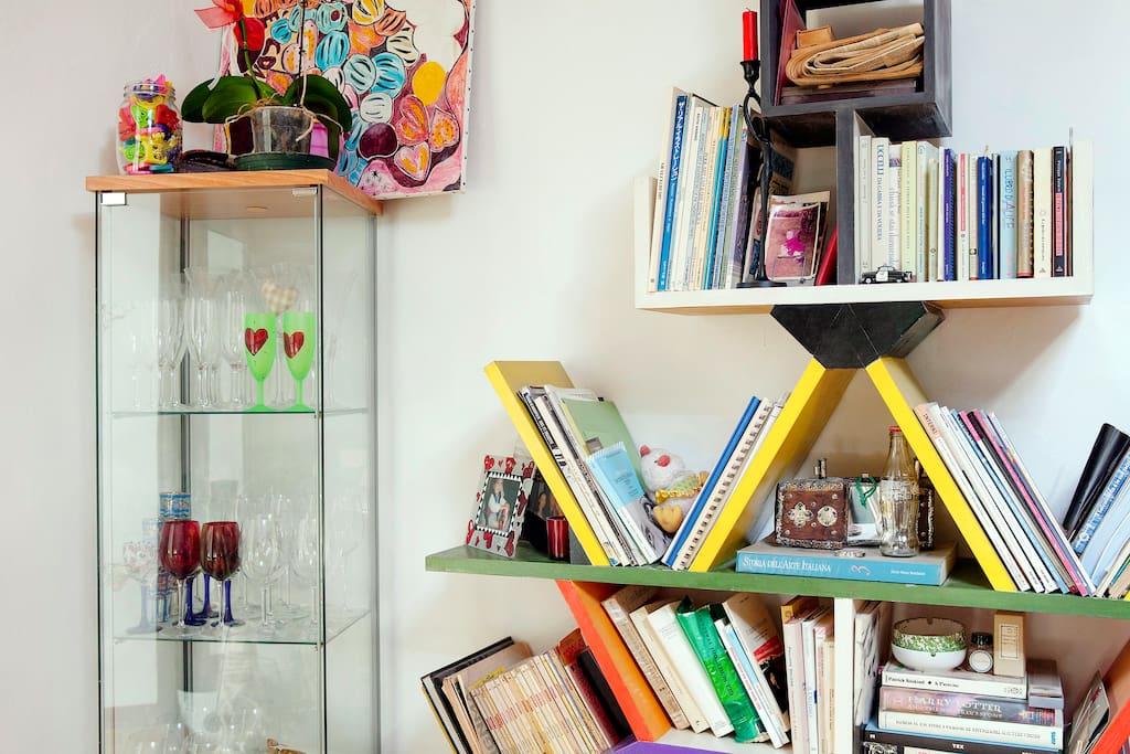 libreria Carlton (E.S.) fatta da mio papà Enzo!