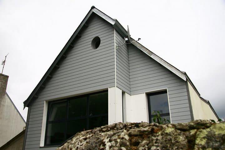 Contemporaine vue mer - Île-Tudy - House