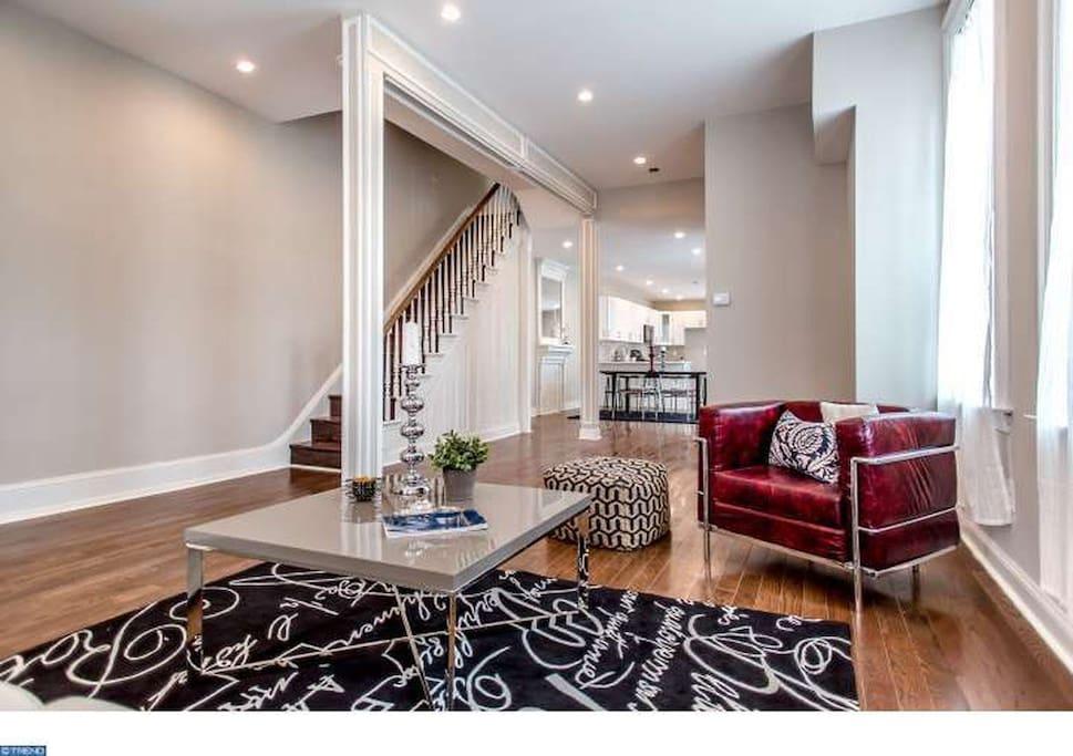 Furnished Living Room