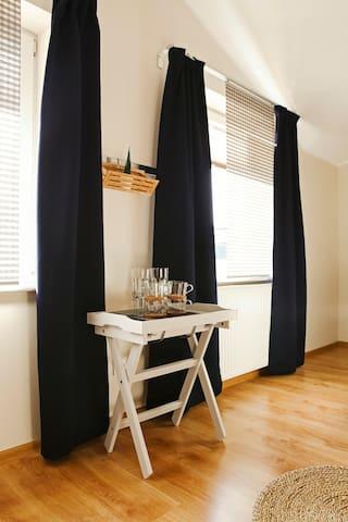 Przytulny pokój dla dwóch osób - Nowy Tomyśl - Apartment