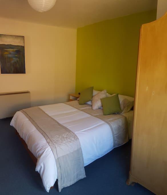 Spacious Bedroom with wardrobe