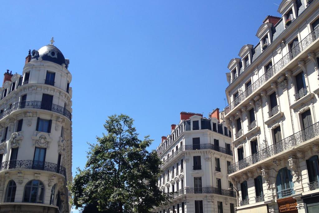 Magnifique appartement centre lyon appartements louer for Reglement interieur immeuble locatif