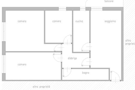 Appartamento 8-10 posti letto - Lejlighed