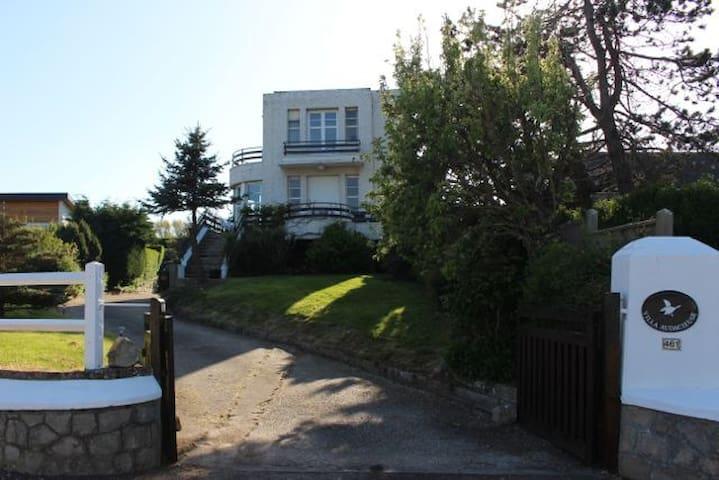 Villa audacieuse vue mer 150m plage - Saint-Aubin-sur-Mer - Villa