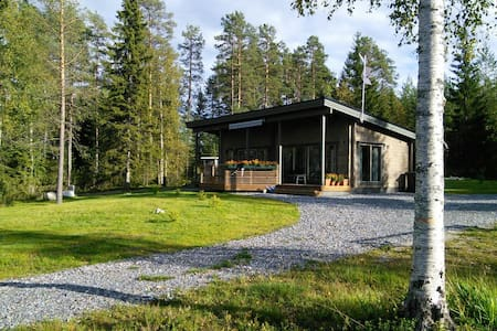 Väliranta - Middle beach Log Cabin - Kuhmo - 別荘