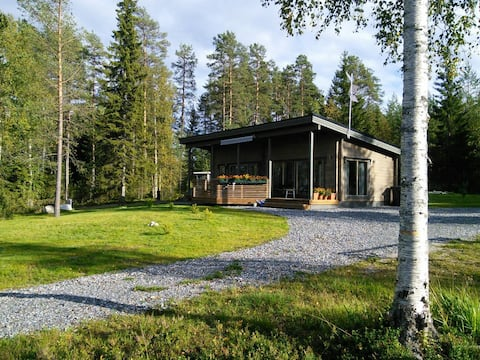 Väliranta - The middle beach log cabin