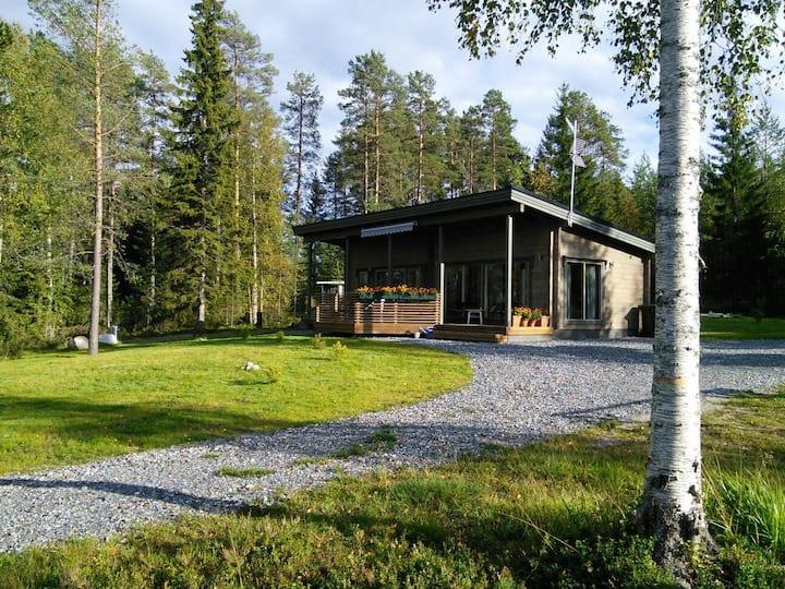 Väliranta - The middle beach log cabin