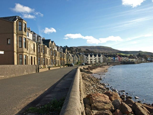 Kooky 2 bedroom beach-front flat - Fairlie - Appartement