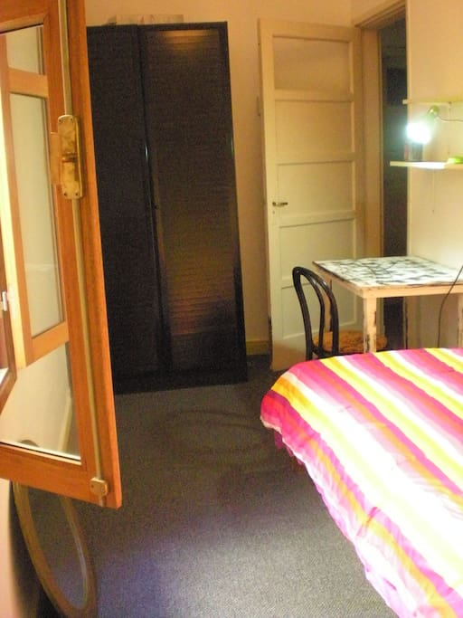 The room suits 1 person with bathroom ensuite.
