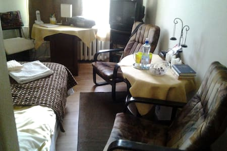 Warsaw Manhattan-comfortable room. - Rumah
